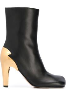 Bottega Veneta Bloc Ankle Boots - Preto