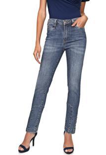 Calça Jeans Carmim Slim Finlandia Azul