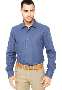 Camisa Aramis Estampada Azul