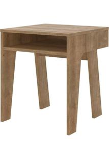 Mesa Lateral Mood Em Mdp Cor Vermont 45 Cm (Larg) - 47964 Sun House