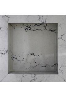 Nicho Em Porcelanato Thar Bianco 30X30Cm