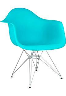Cadeira Moderna Com Base Cromada 1121-Or Design - Tifany