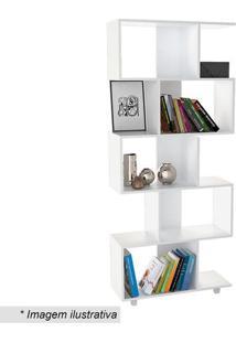 Estante Livreiro Office Plus- Branca- 182,5X78,5X31Cappunto Móveis