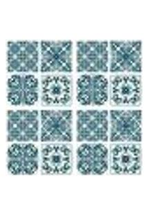 Adesivos De Azulejos - 16 Peças - Mod. 46 Medio