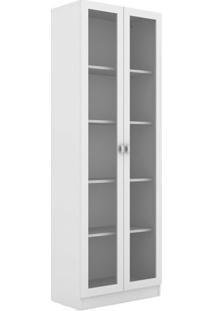 Armário Com Portas- Branco- 171X59,8X31,5Cm- Tectecnomobili
