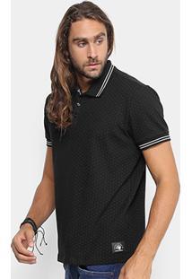 Camisa Polo Colcci Piquet Poá Masculina - Masculino