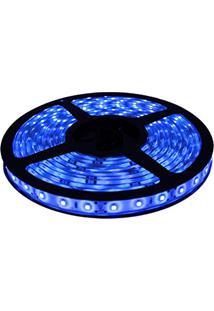 Fita Led 5050 Azul Rolo 5M Com Fonte 12V 5A