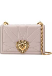 Dolce & Gabbana Bolsa Tiracolo Devotion - Neutro