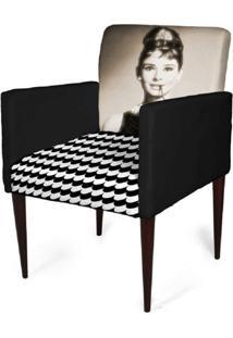 Cadeira Decorativa Mademoiselle Plus Imp Digital (2 Peças) Imp Digital 112 Frida