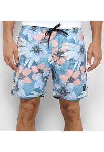 Bermuda Rip Curl Radlands 17 Volley - Masculina - Masculino-Azul Claro