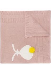 Stella Mccartney Kids Cobertor De Coelhinho - Rosa