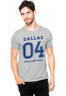 Camiseta Rgx Dallas American Football Cinza