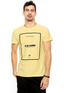 Camiseta Malwee Seashore Amarela