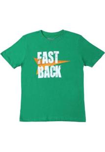 Camiseta Fast Back 20448 Masculina - Masculino-Verde