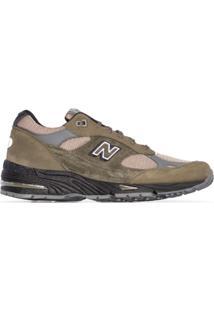 New Balance M991 Low-Top Sneakers - Verde