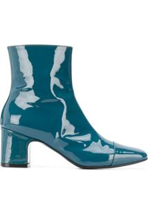 Carel Ankle Boot Sucette Com Salto 65Mm - Azul