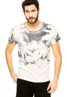 Camiseta Coca-Cola Jeans Reta Bege