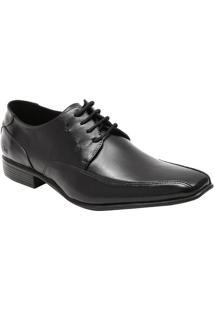 Sapato Social Leblon Em Couro Com Pespontos Laterais- Prcns