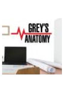 Adesivo De Parede Greys Anatomy 02 - Eg 58X121Cm
