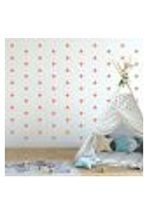 Adesivo Decorativo De Parede - Kit Com 140 Estrelas - 005Kab09