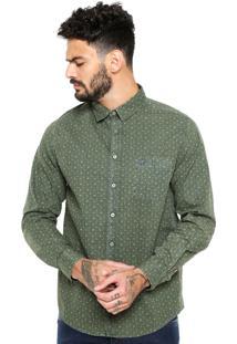 Camisa Cavalera Emmet Verde