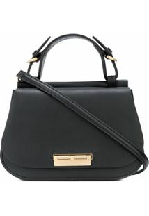 Zac Zac Posen Bolsa Chantalle Saddle - Preto
