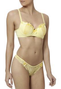 Conjunto De Lingerie Luen Amarelo