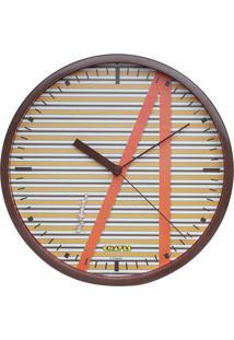 Relógio De Parede Do Chaves® Shirt- Amarelo Escuro & Corurban