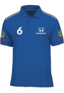 Camisa Polo Fórmula Retrô Williams 1987 - Masculino