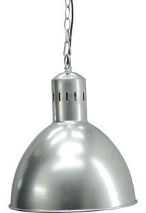 Luminária Pendente Prata Kasa Ideia
