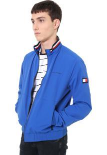 Jaqueta Tommy Hilfiger Recortes Azul