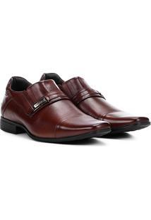Sapato Social Couro Rafarillo Duo Dress - Masculino-Marrom