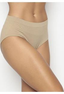 Calcinha Hot Pant Texturizada- Bege- Zee Ruccizee Rucci