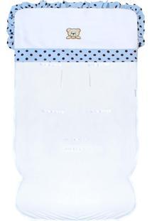 Capa De Carrinho Padroeira Baby Mimos Azul