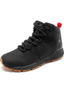 Bota Couro Dc Shoes Muirland Preta