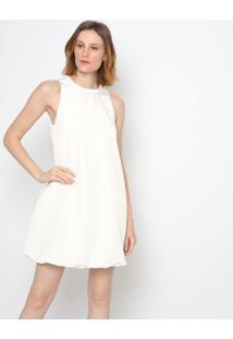 Vestido Liso - Off White - Colccicolcci