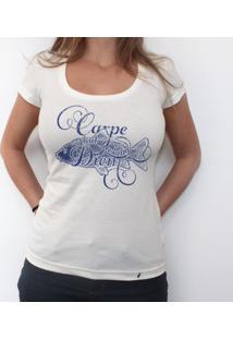 Carpe Diem - Camiseta Clássica Feminina