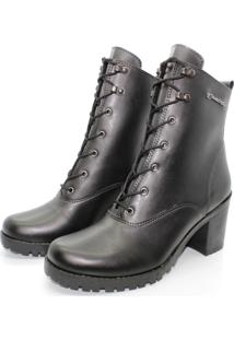 Bota Barth Shoes Wind Napa Sint - Preto - Preto - Feminino - Dafiti