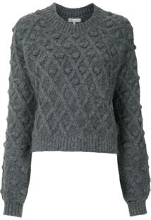 Nk Pullover Pompom Peggy - Cinza