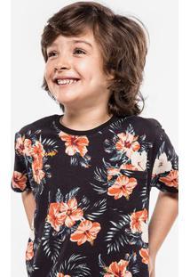 Camiseta Floral Niños 500005