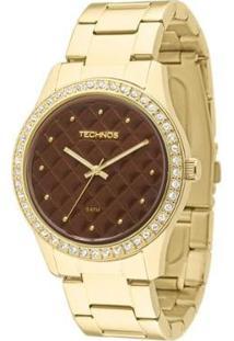 Relógio Technos Trend Feminino Analógico - 2035Lxs/4M 2035Lxs/4M - Feminino-Dourado