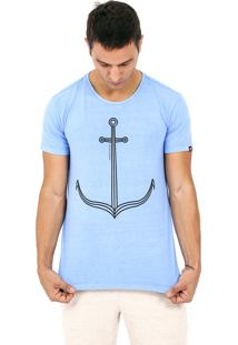 Camiseta Kahú Guardians Âncora Azul