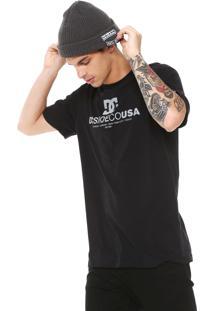 Camiseta Dc Shoes Limit Preta