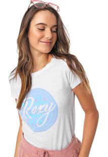 Camiseta Roxy Bang Branca