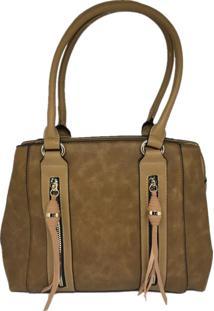 Bolsa Sys Fashion Casual Importada Transversal 2748 Caramelo