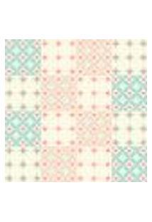 Papel De Parede Autocolante Rolo 0,58 X 3M - Azulejo Coração 246894295