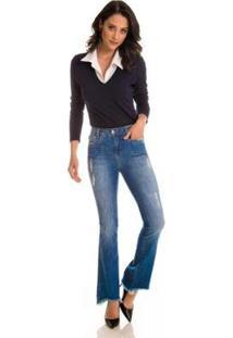 Calça Jeans Zait Flare Witty - Feminino