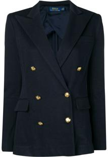 Polo Ralph Lauren Double-Breasted Blazer - Azul