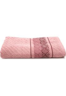 Toalha De Banho Karsten Gigante Colin Lady Pink 86 X 150
