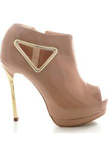 Ankle Boot Le Bianco - Feminino-Nude